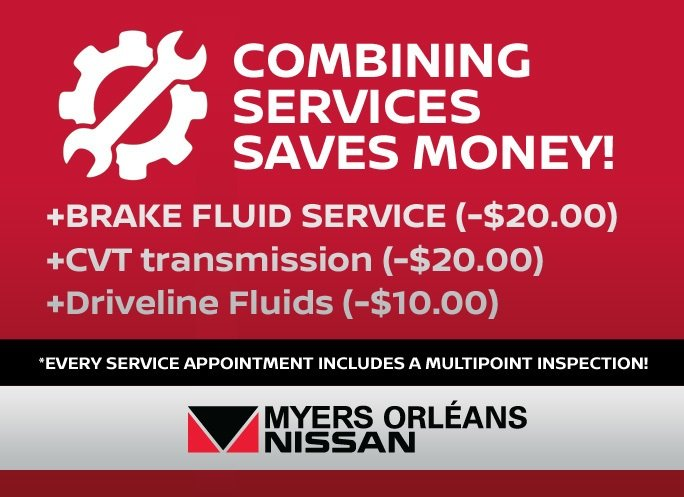 Myers Orléans Nissan Recommended Maintenance Schedule